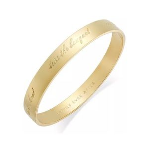 """Kate Spade """"Happily Ever After""""  Bangle"""